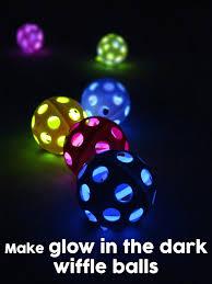 glow balls in the wiffle balls