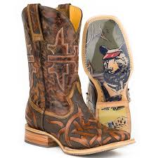 tin haul s 11 stag house cowboy boot