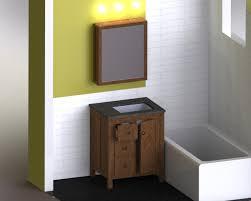 custom bathroom vanity and medicine cabinet total bathroom gut