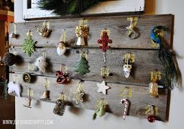 huge barn wood christmas advent calendar all things thrifty