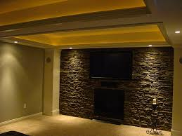 Wall Bar Ideas by Basement I Finished Faux Stone Wall U2026 Pinteres U2026