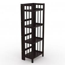 Iron Folding Bookcase Folding Bookcase U2013 Espresso 16 U2033 Stony Edge