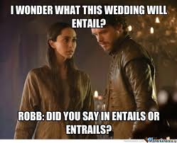 Game Of Thrones Red Wedding Meme - planning the red wedding by nokash meme center