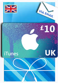 instant e gift card itunes 10 uk gift card