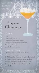 soyer au champagne great gatsby inspired cocktail gatsby party