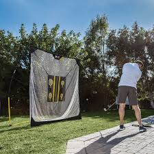 amazon com sklz quickster golf net 6 x 6ft with chipping target