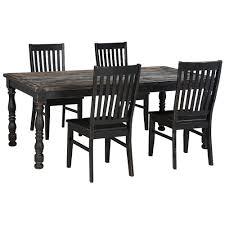 signature design by ashley clayco bay 5 piece rectangular dining