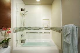 Shower Bathtub Combo Designs Walk In Shower Tub Combo Ideas The Evolution Of Modern Jacuzzi Tub