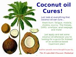 Coconut Oil Meme - herban legends good herbal info herbal prepper