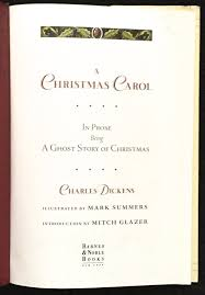 Christmas Carols Invitation Cards A Christmas Carol In Prose Being A Ghost Story Of Christmas