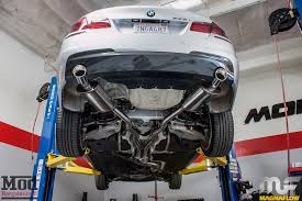 bmw 535i exhaust f10 bmw 535i magnaflow exhaust installed modauto
