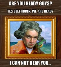 Beethoven Meme - historical meme spongebob theme know your meme