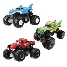 monster truck race track toys wheels monster jam 1 24 assorted toys r us australia