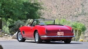 Ferrari California 1960 - 1963 modena spyder california s163 monterey 2013