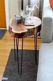 Tree Stump Side Table Best 25 Tree Stump Table Ideas On Pinterest Stump Table Tree