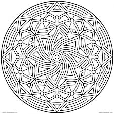 32 cool geometric design coloring pages uncategorized printable
