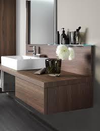 Duravit Bathroom Furniture Duravit Delos Brushed Walnut 565 X 600mm Floor Cabinet دواليب
