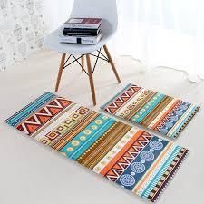 aliexpress com buy ethnic style kitchen rugs hallway bedside