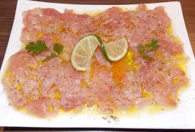 comment cuisiner le thon frais carpaccio de thon frais au basilic et fleur de sel de guerande