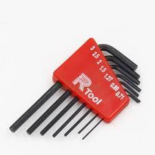 7pcs set 0 71mm 3mm mini hex key set hexagon allen wrench tool 7