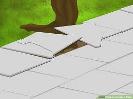 How To Clean Patio Flags How To Create A Patio With Pictures Wikihow