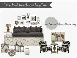 Gray And Brown Living Room by Interior Design Mood Board Warm Neutral Living Room Gray Cream