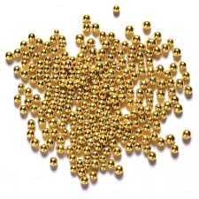 4mm edible gold balls for cakes 100g