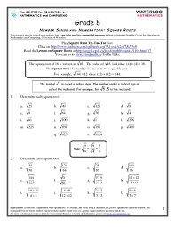 free worksheets worksheets on square roots and cube roots free