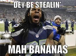 Richard Sherman Memes - richard sherman monkey quickmeme
