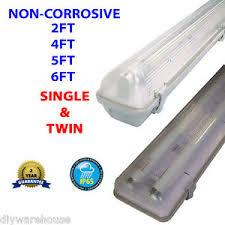 4ft double fluorescent light fittings 2 4 5 6ft non corrosive fluorescent light fitting weatherproof