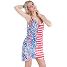 Flag Dress Joswen Dresses For Weddings And Special Occasions Polyester V