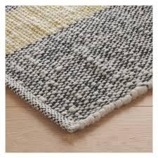 Flat Weave Runner Rugs Brecan Large Grey Wool Rug 200 X 300cm Wool Rug Woven Rug
