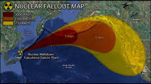 Nuclear Fallout Map by Plume Gate Fukushima Radiation Youtube