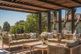 Outdoor Furniture In Los Angeles Modernist Villa In Pacific Palisades With A Resort Like Outdoor