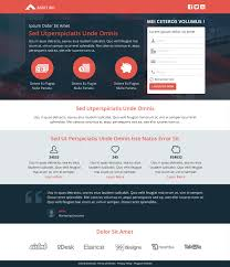 Two Column Responsive Email Template by Marketo Templates Import Email Landing Page Or Program
