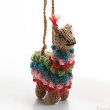 ornaments highland alpaca ornament