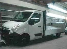 hobby auto porto mantovano telematics auction opel movano year 2010 on sale doauction