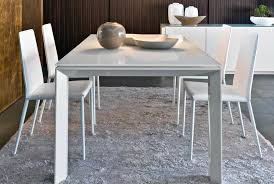 calligaris cs 4058 lv 140 omnia glass dining table italy neo