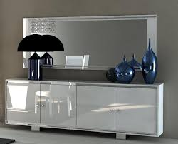 Sideboards And Buffets Contemporary Contemporary Felino 4 Door Sideboard In White Grey Or Taupe Matt