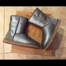 ugg boots on sale size 5 49 ugg shoes ugg metallic boots size 5