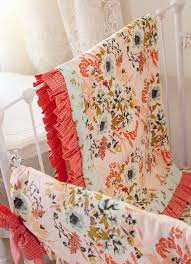 nursery accessories for blush pink and coral bedding