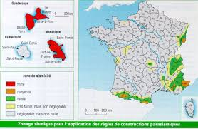 Marseilles France Map by The Seismic Activity In France