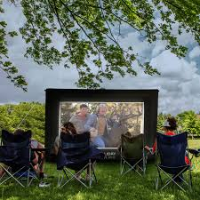 inflatable movie screen 256