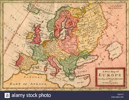 Map Of Benghazi Map Of Europe Stockfotos U0026 Map Of Europe Bilder Alamy