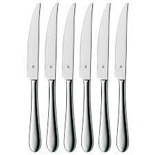 wmf cromargan stainless steel steak knife set 6 piece save 55