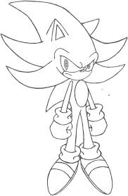 coloring pages sonic supersonic coloring pages super sonic the hedgehog coloring