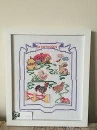home decor gift ideas handmade cross stitch frame la