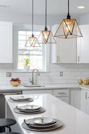 dc metro 4x12 subway tile kitchen transitional with brass hardware