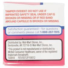 Walmart Store Floor Plan Equate Allergy Medication 25 Mg Capsules Antihistamine 100 Ct