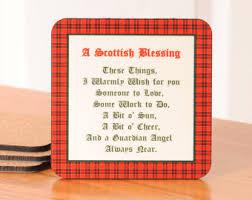 Scottish Bathroom Signs Scottish Blessing Etsy